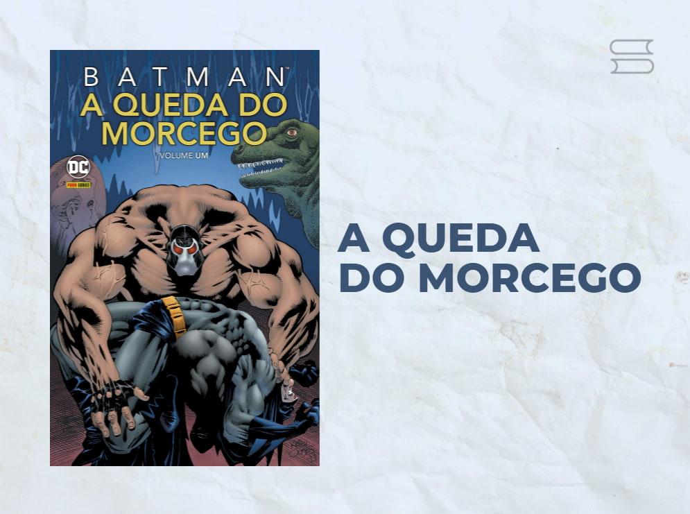 livro a queda do morcego