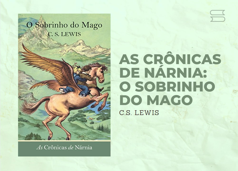 livro as cronicas de narnia o sobrinho do mago