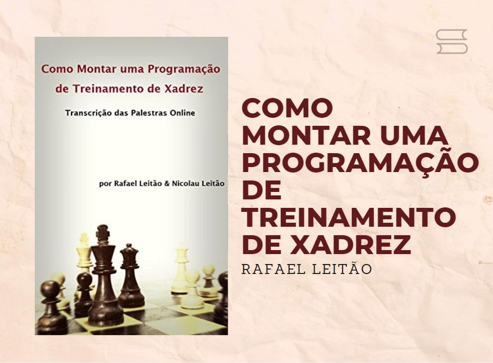 livro como montar uma programacao de treinamento de xadrez