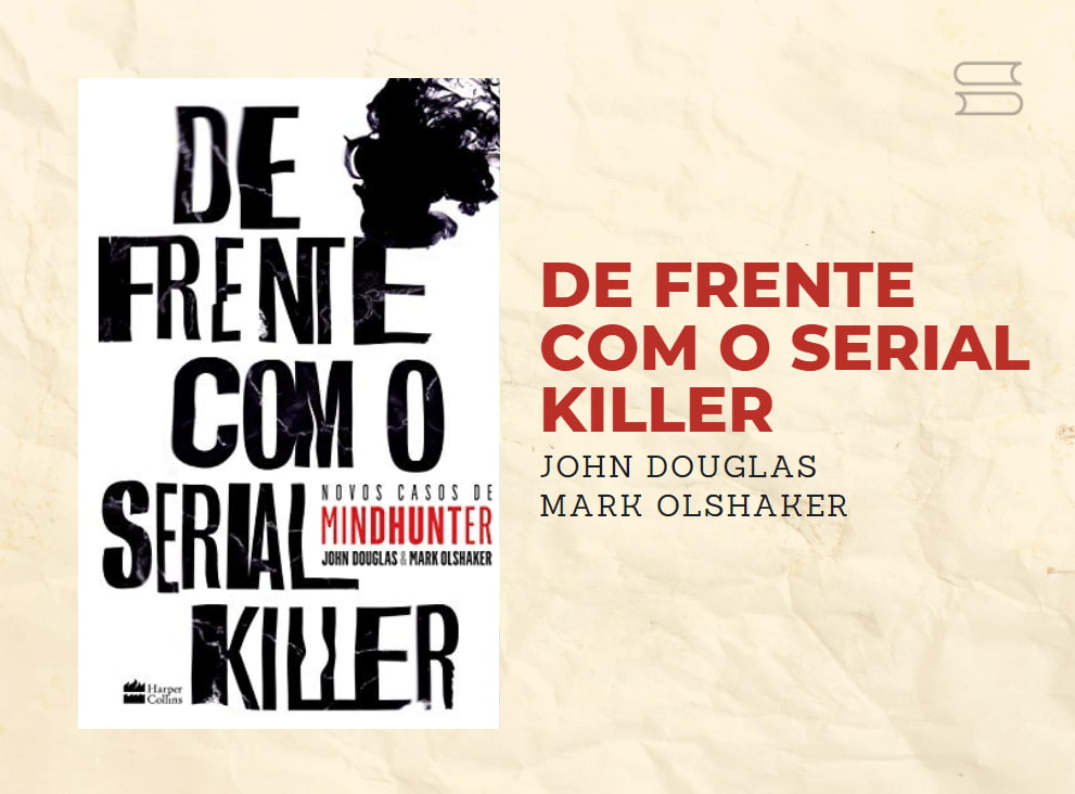 livro de frente com o serial killer