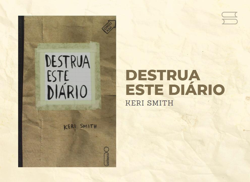 livro destrua este diario