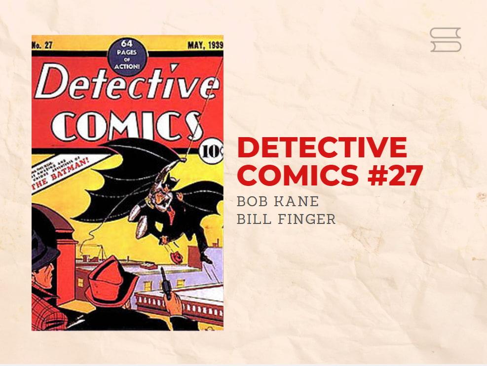 livro detective comics