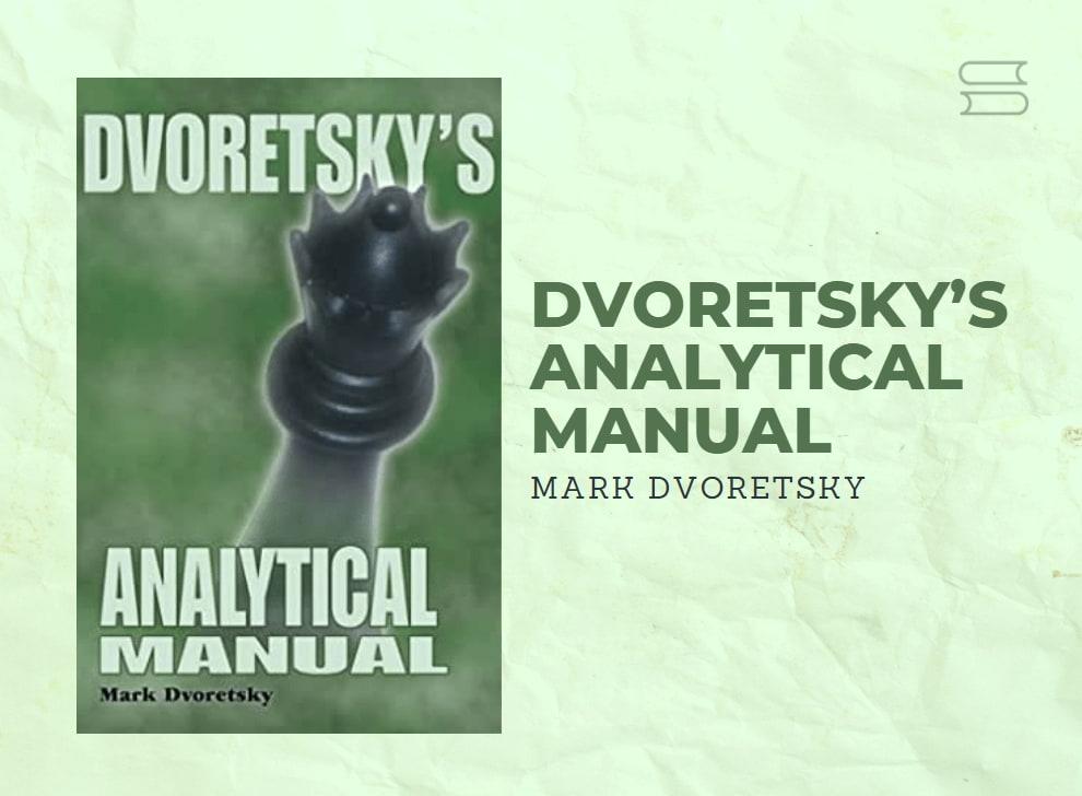 livro dvoretskys analytical manual