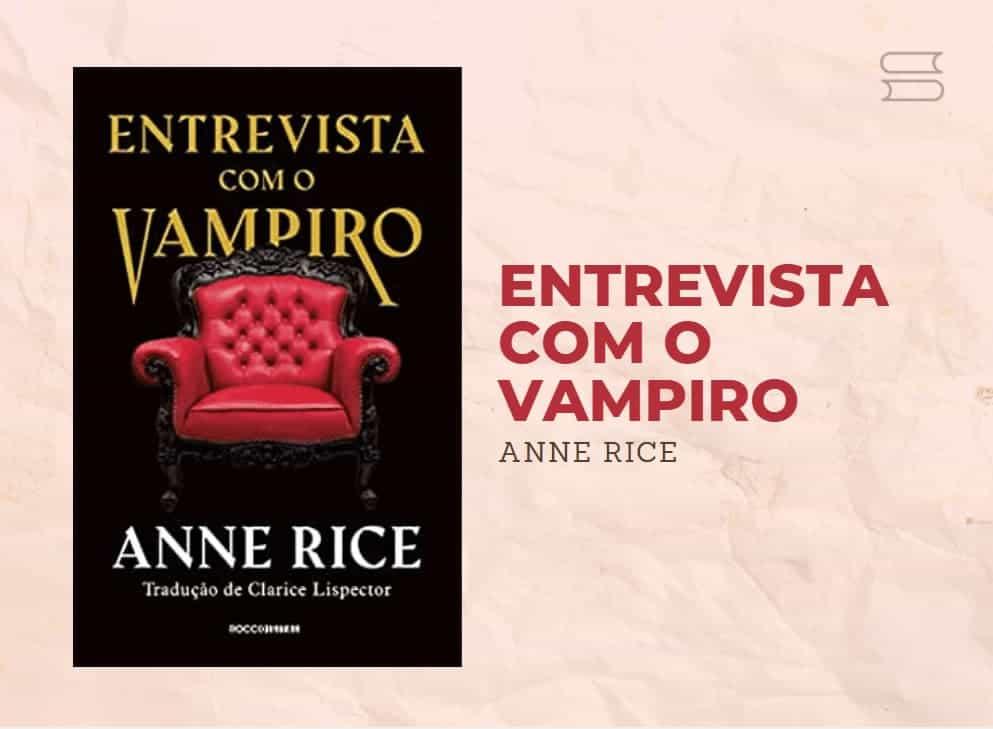 livro entrevista com o vampiro