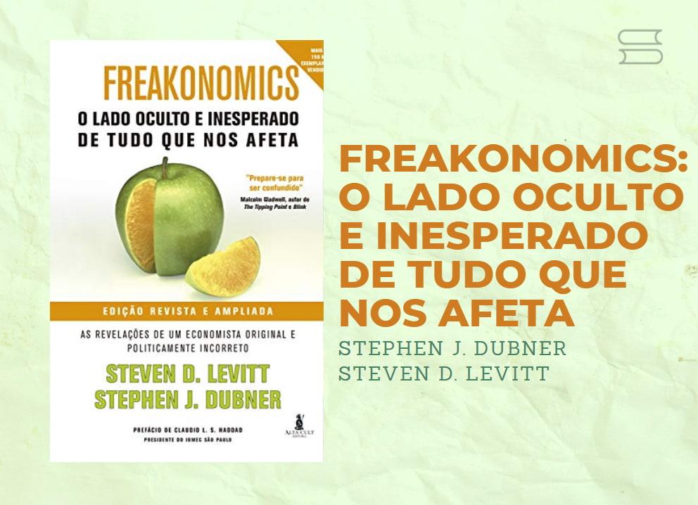 livro freakonomics