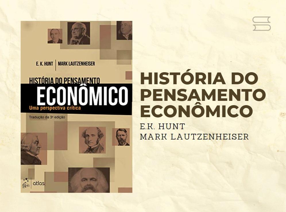 livro historia do pensamento economico