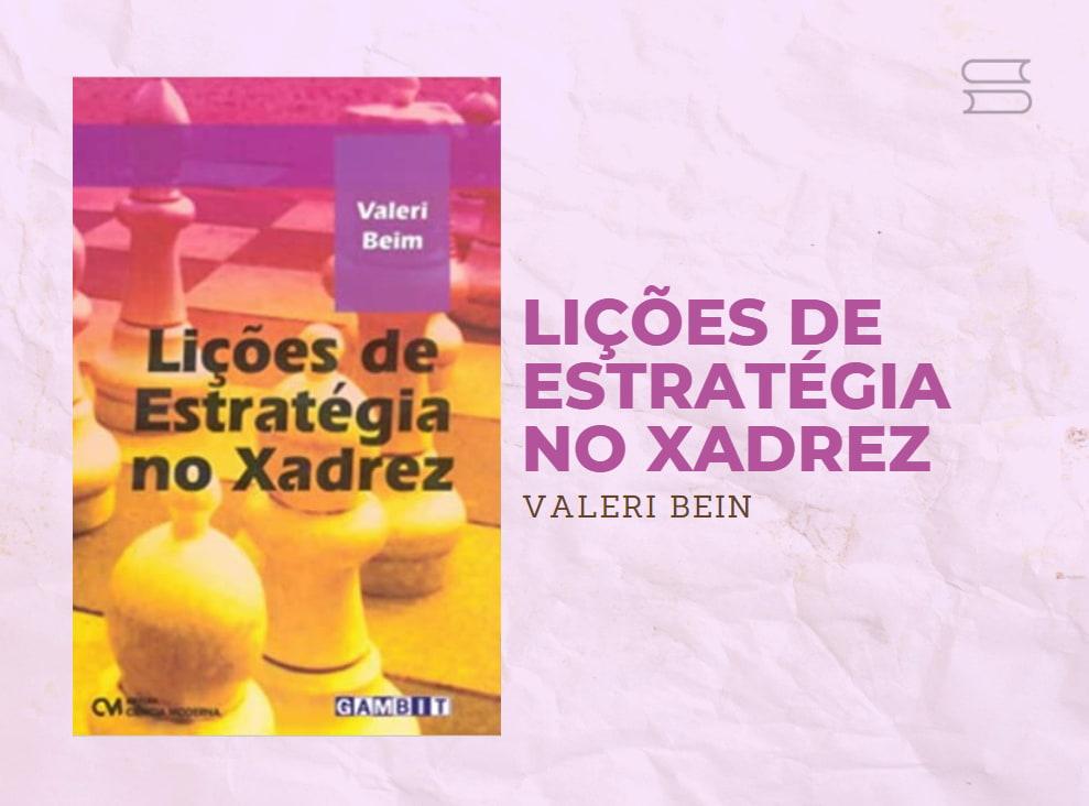 livro licoes de estrategia no xadrez