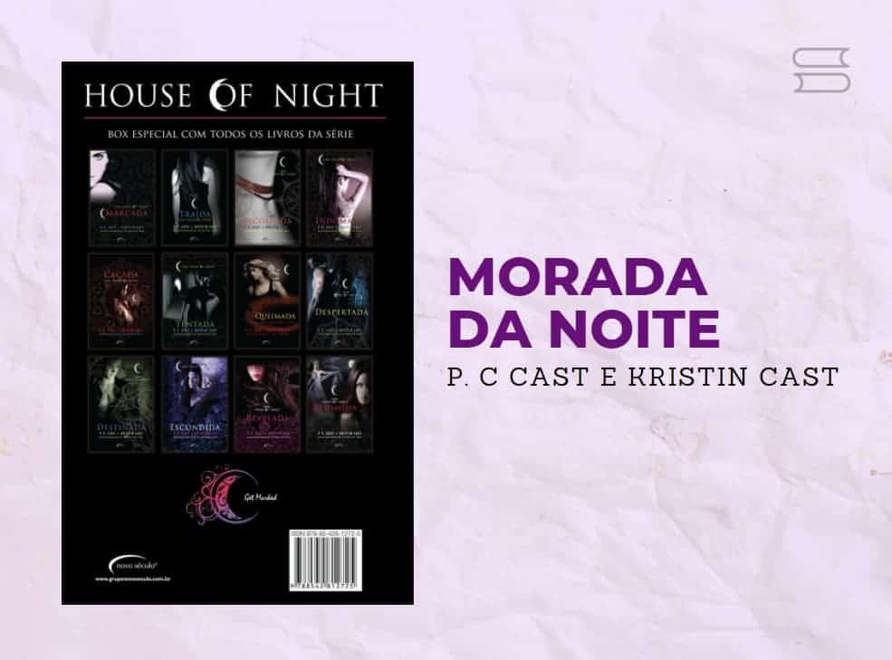 livro morada da noite