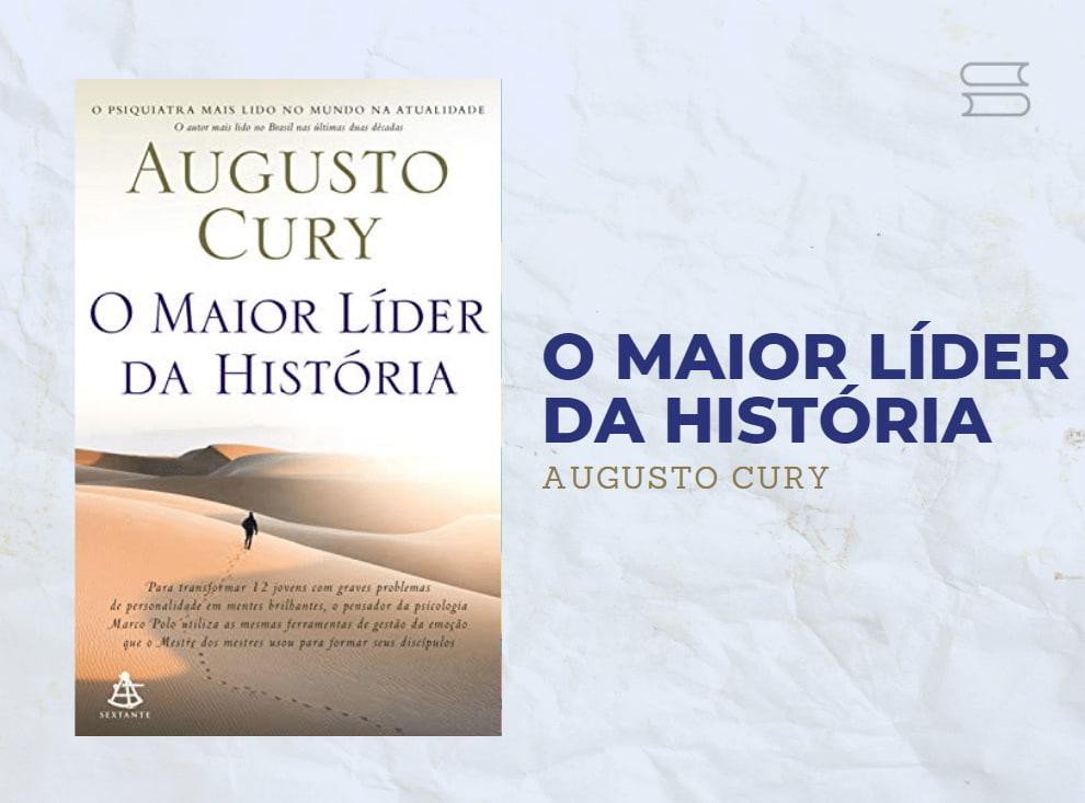 livro o maior lider da historia