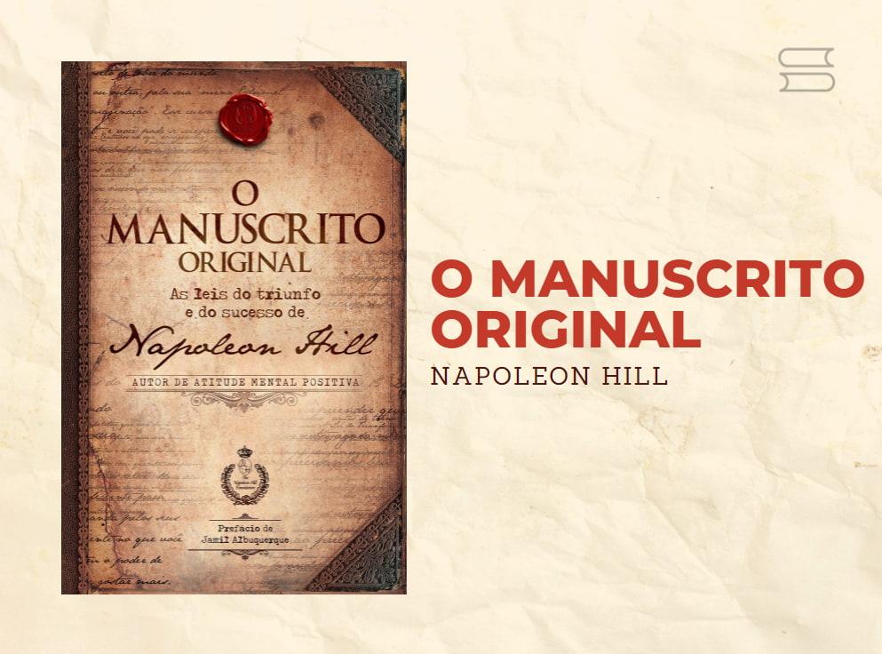 livro o manuscrito original