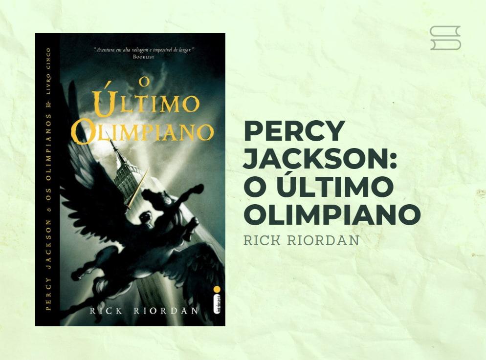 livro percy jackson o ultimo olimpiano