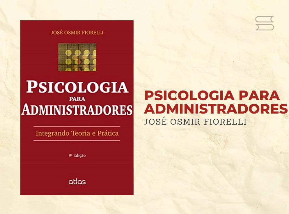 livro psicologia para administradores