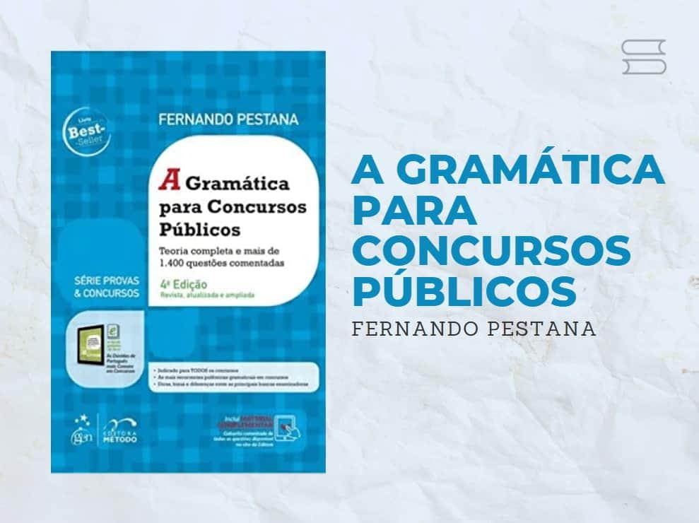 livro a gramatica para concursos publicos
