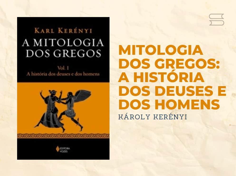 livro a mitologia dos gregos