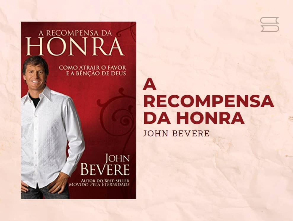 livro a recompensa da honra