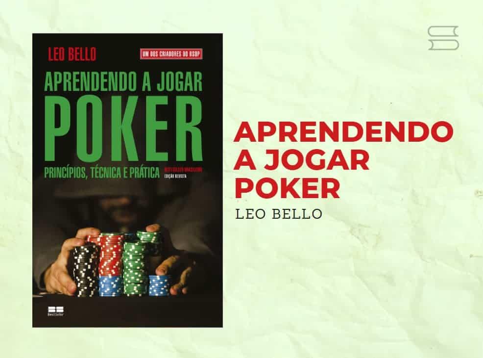 livro aprendendo a jogar poker