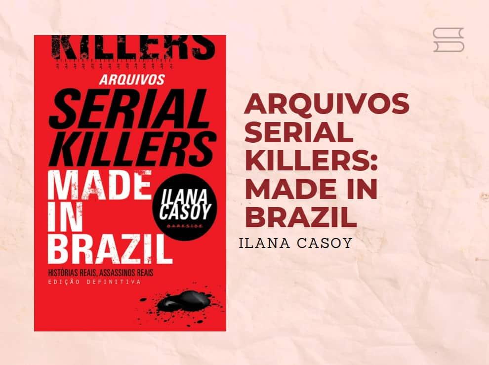 livro arquivos serial killers