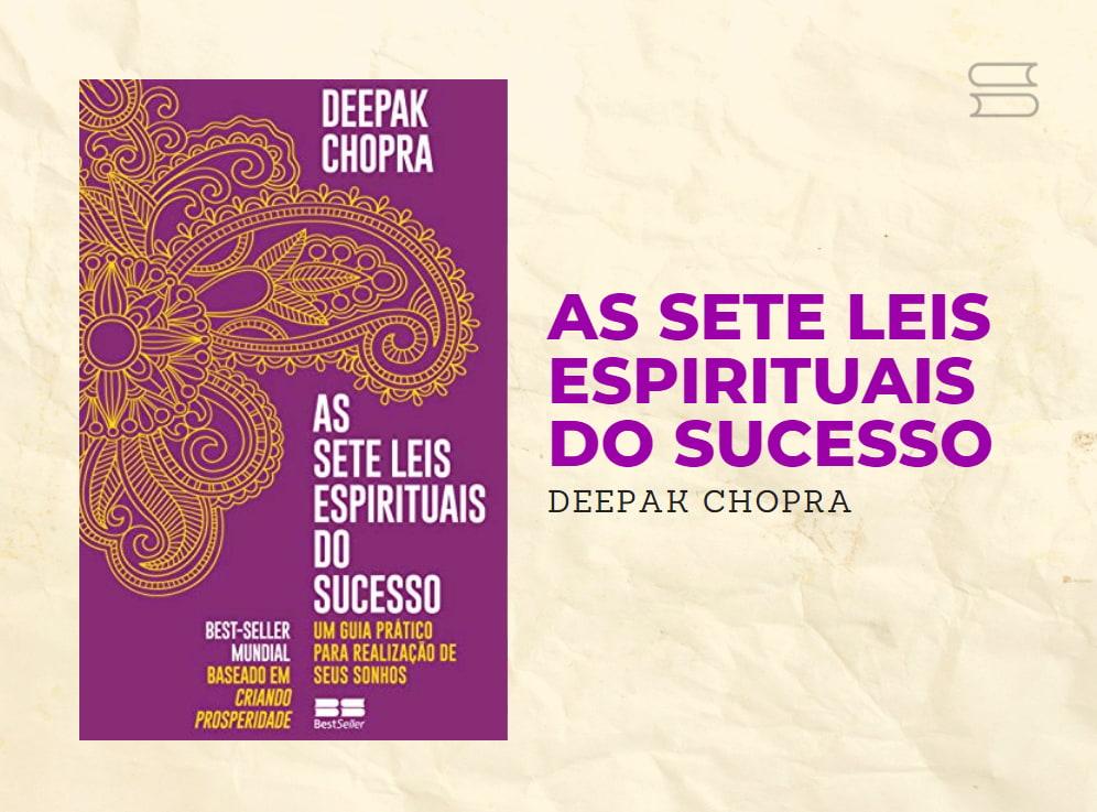 livro as 7 leis espirituais do sucesso