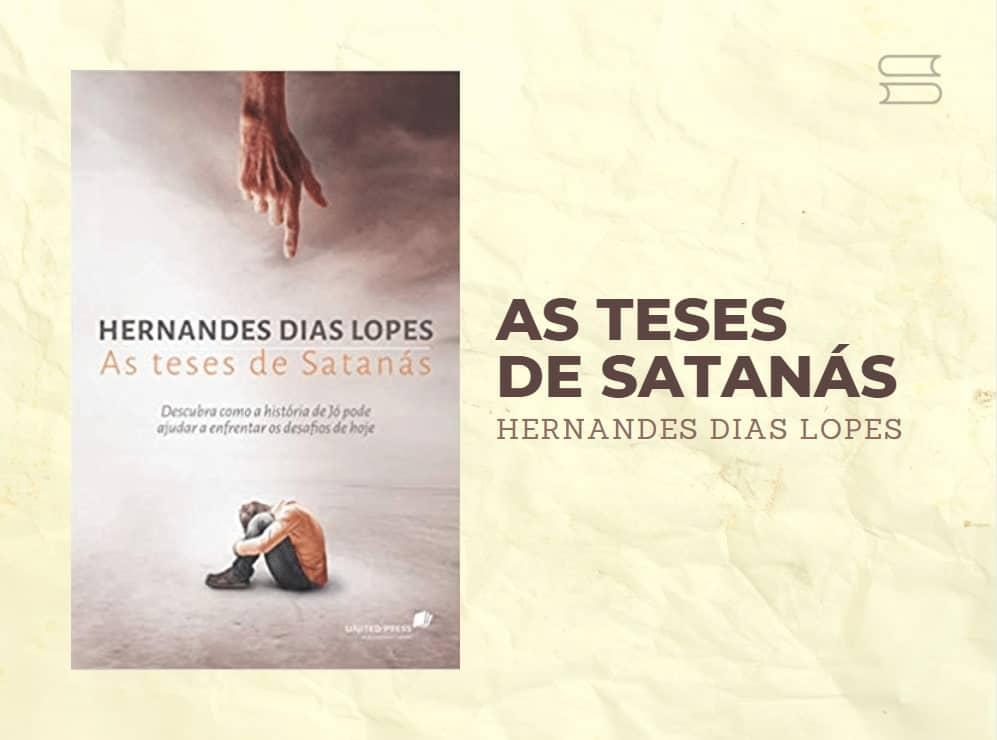 livro as teses de satanas