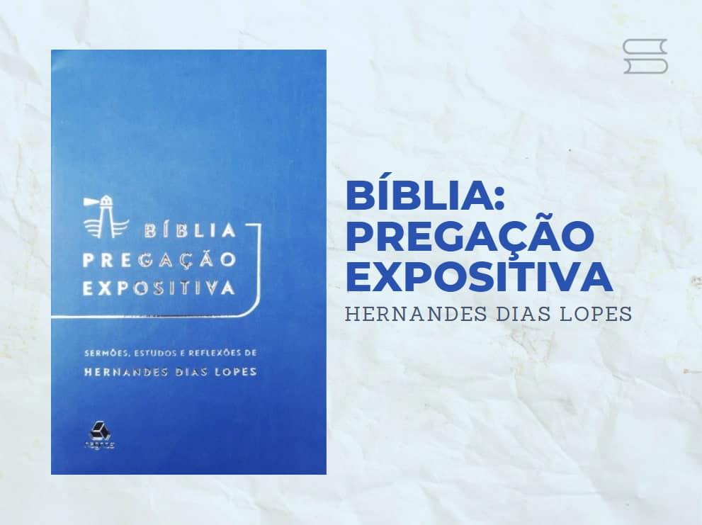 livro biblia pregacao expositiva