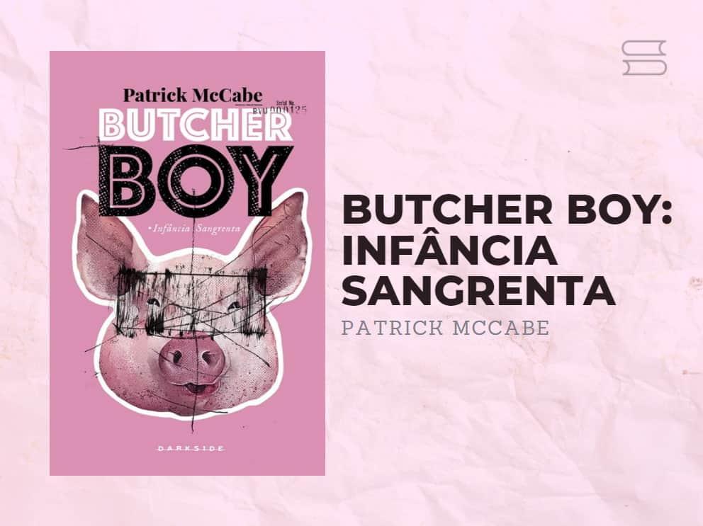 livro butcher boy