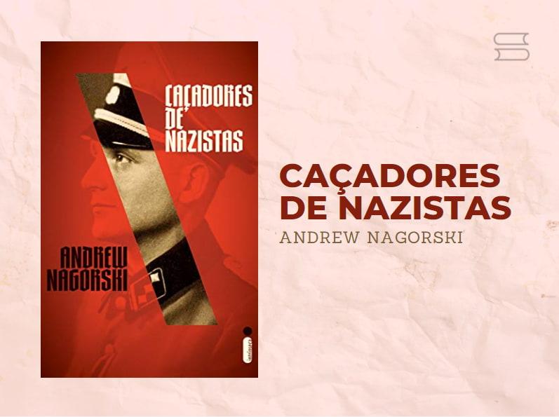 livro cacadores de nazistas