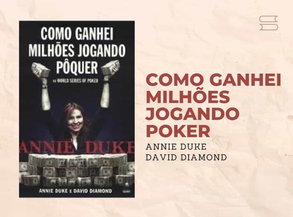 livro como ganhei milhoes jogando poker