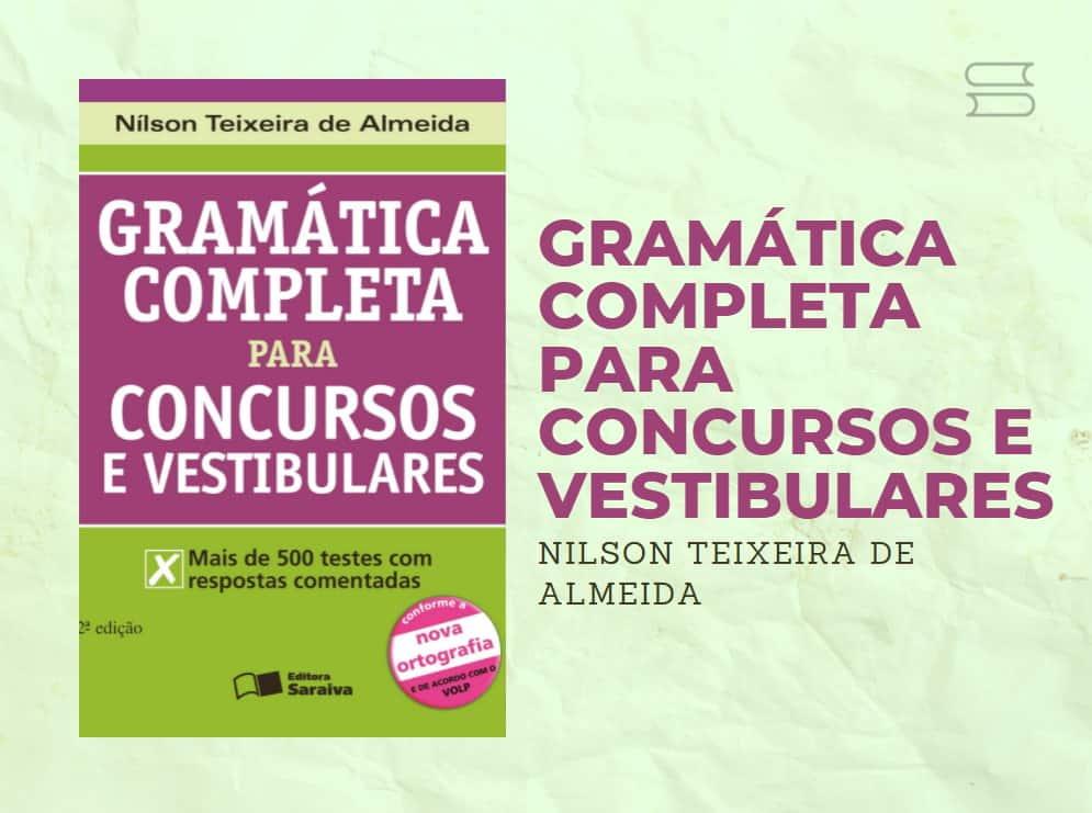 livro gramatica completa para concursos e vestibulares