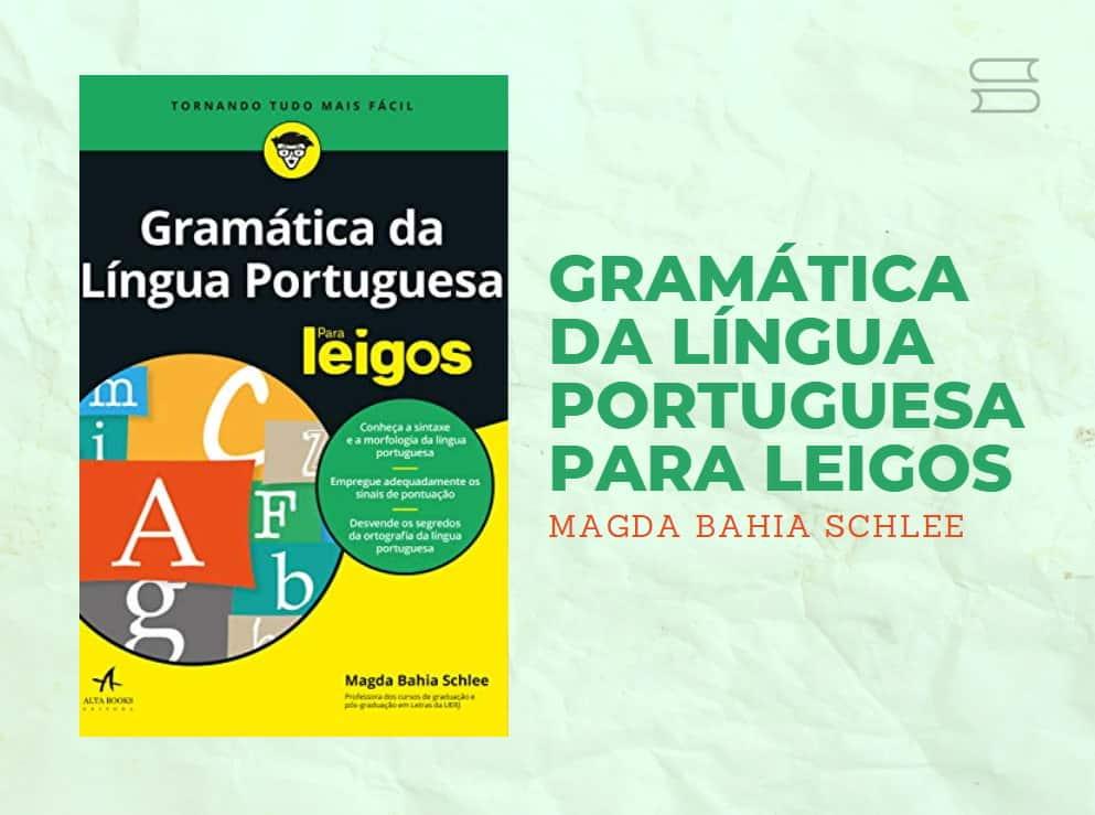 livro gramatica da lingua portuguesa para leigos