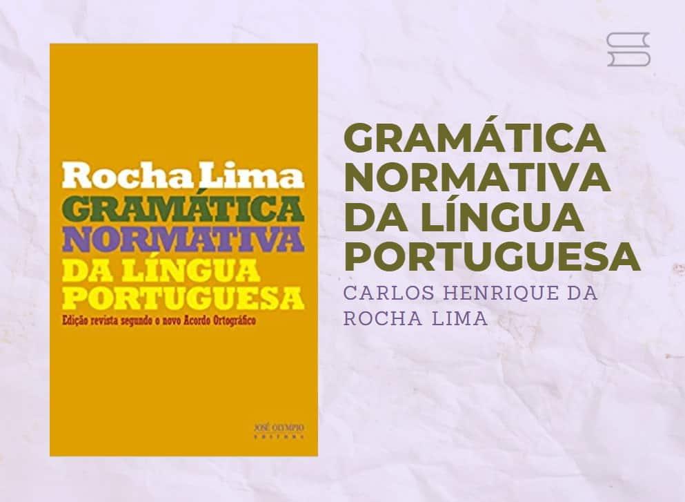 livro gramatica normativa da lingua portuguesa