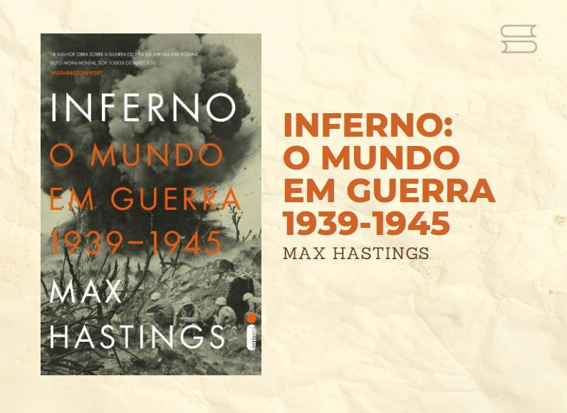 livro inferno o mundo em guerra