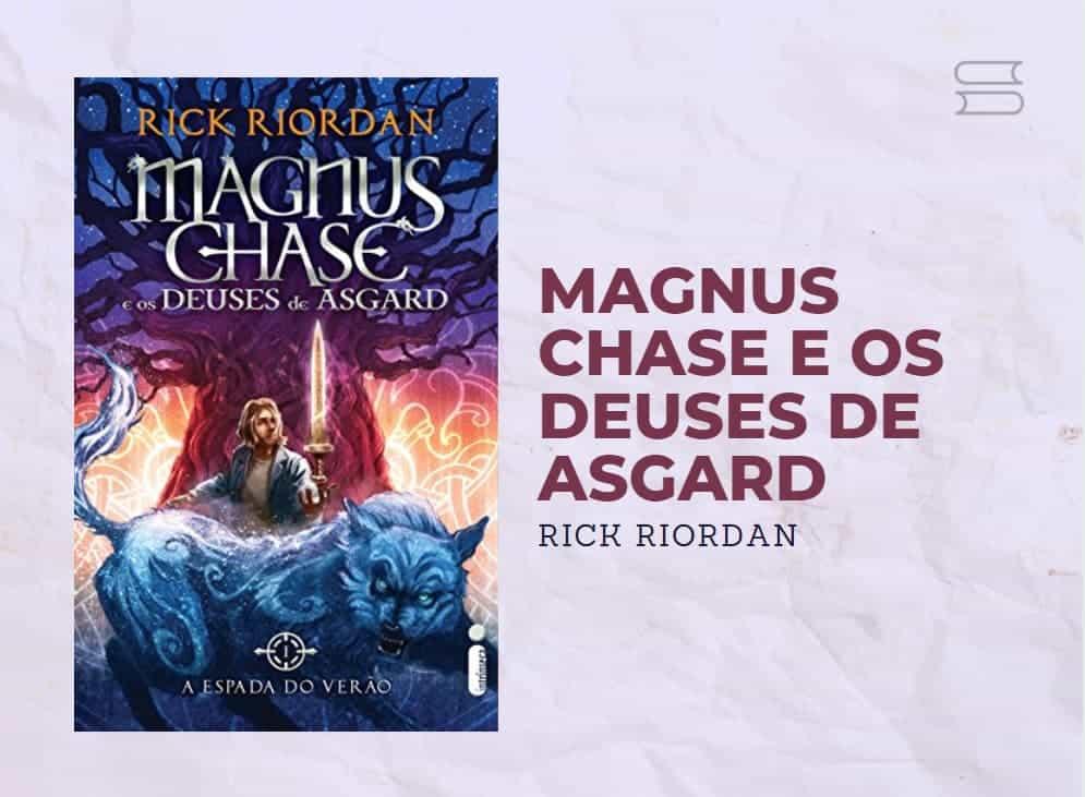livro magnus chase e os deuses de asgard