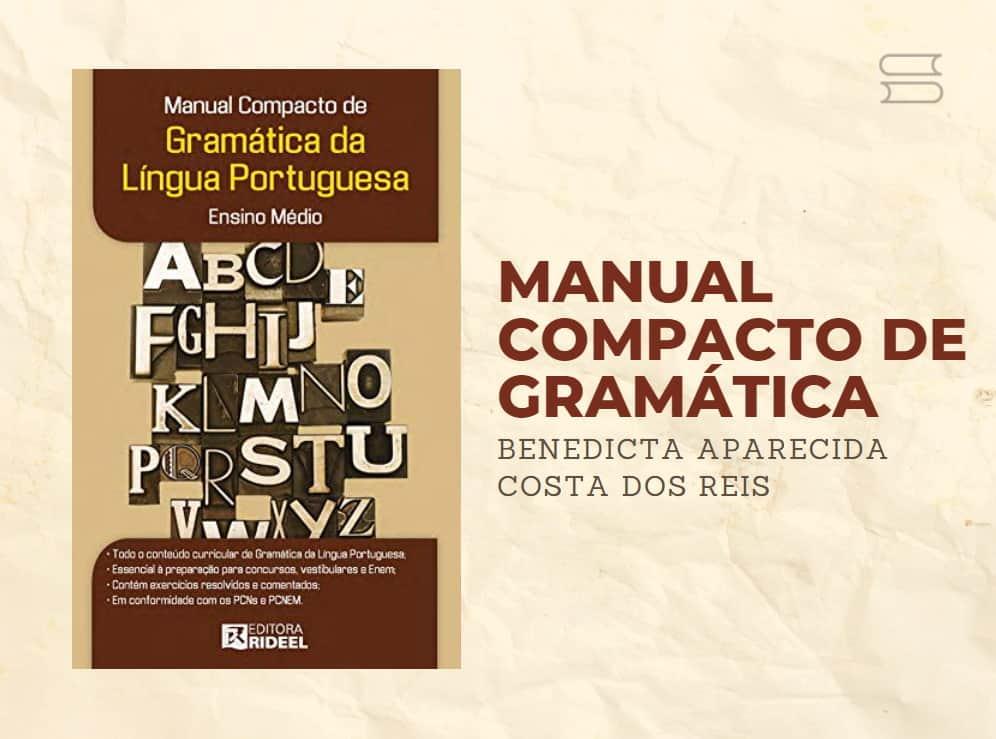 livro manual compacto de gramatica