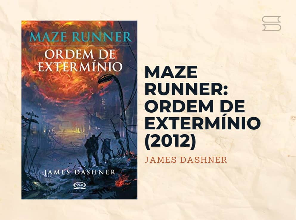 livro maze runner ordem de exterminio