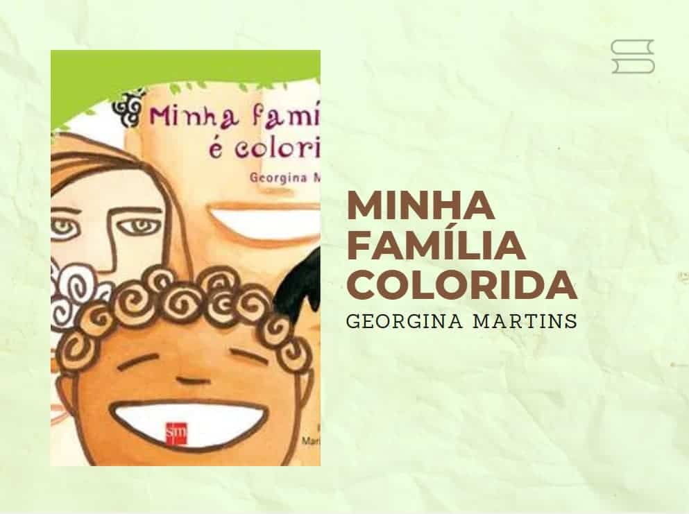 livro minha familia colorida