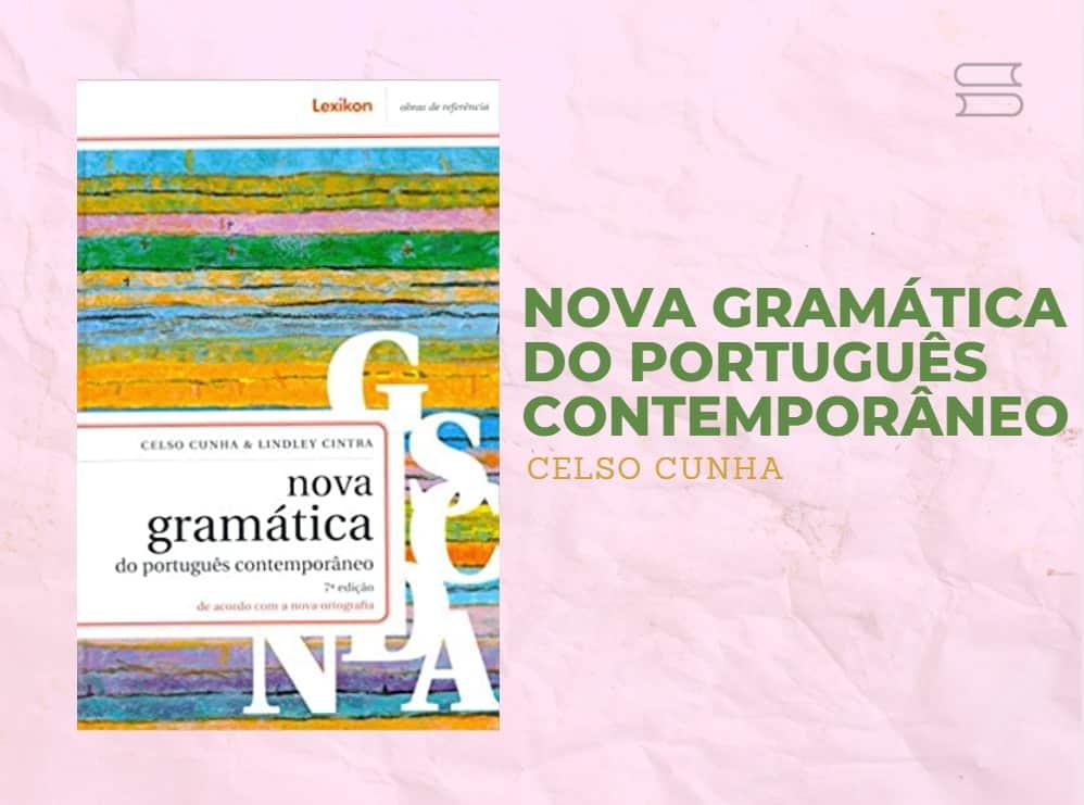 livro nova gramatica do portugues contemporaneo