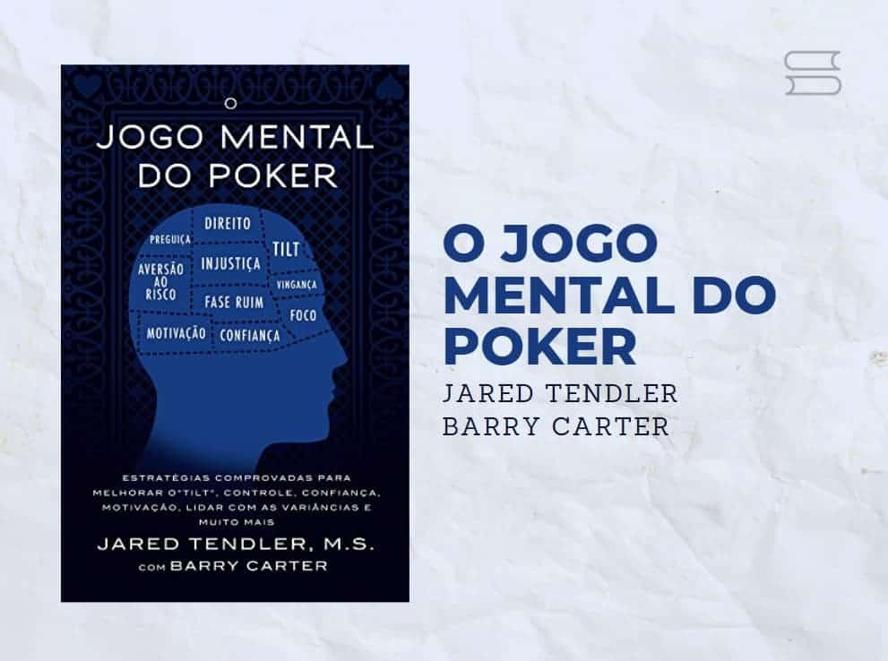 livro o jogo mental do poker