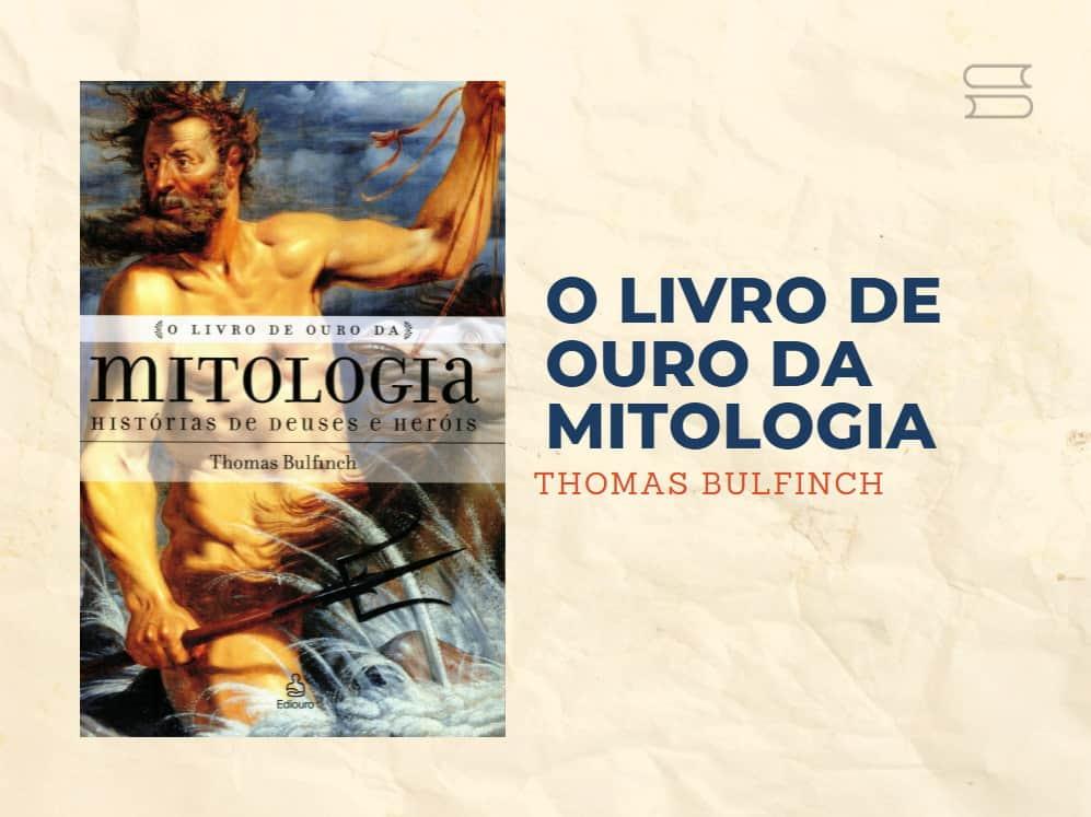 livro o livro de ouro da mitologia