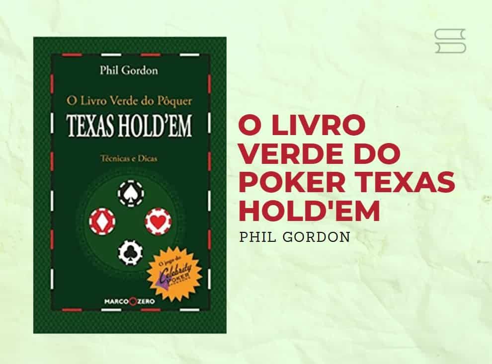 livro o livro verde do poker texas holdem
