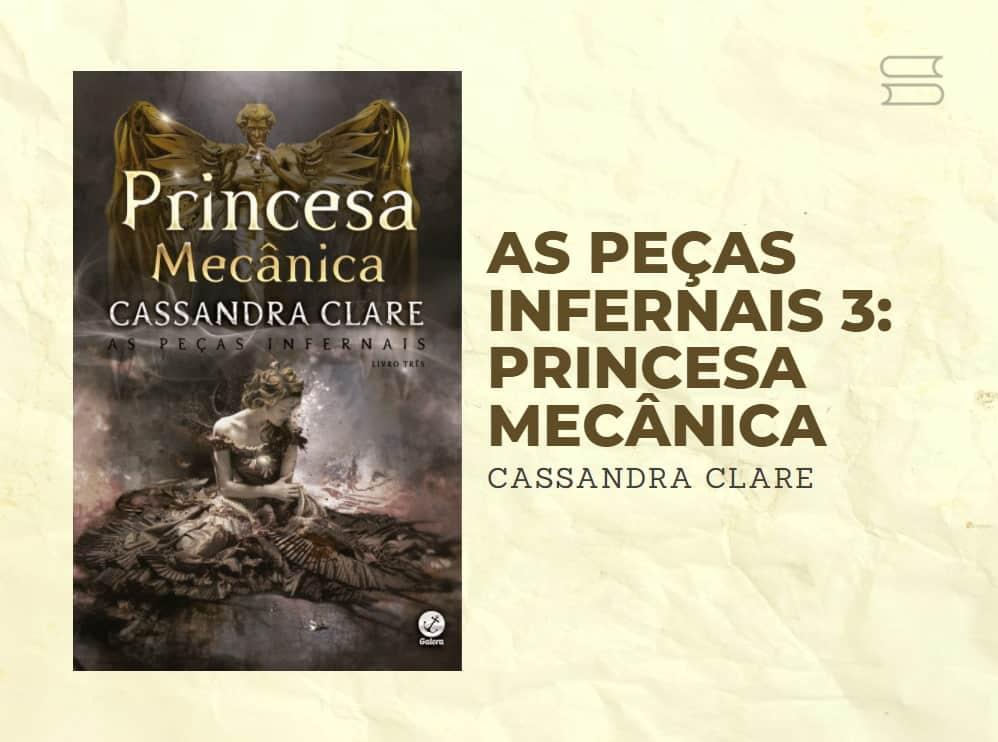 livro princesa mecanica