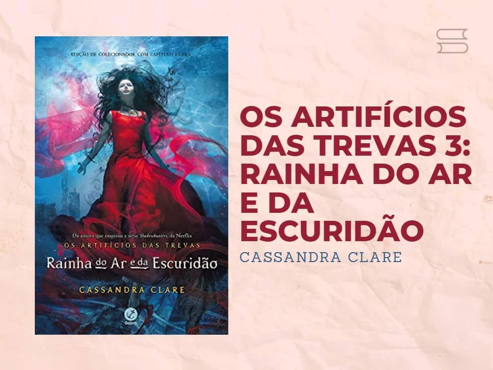 livro rainha do ar e da escuridao