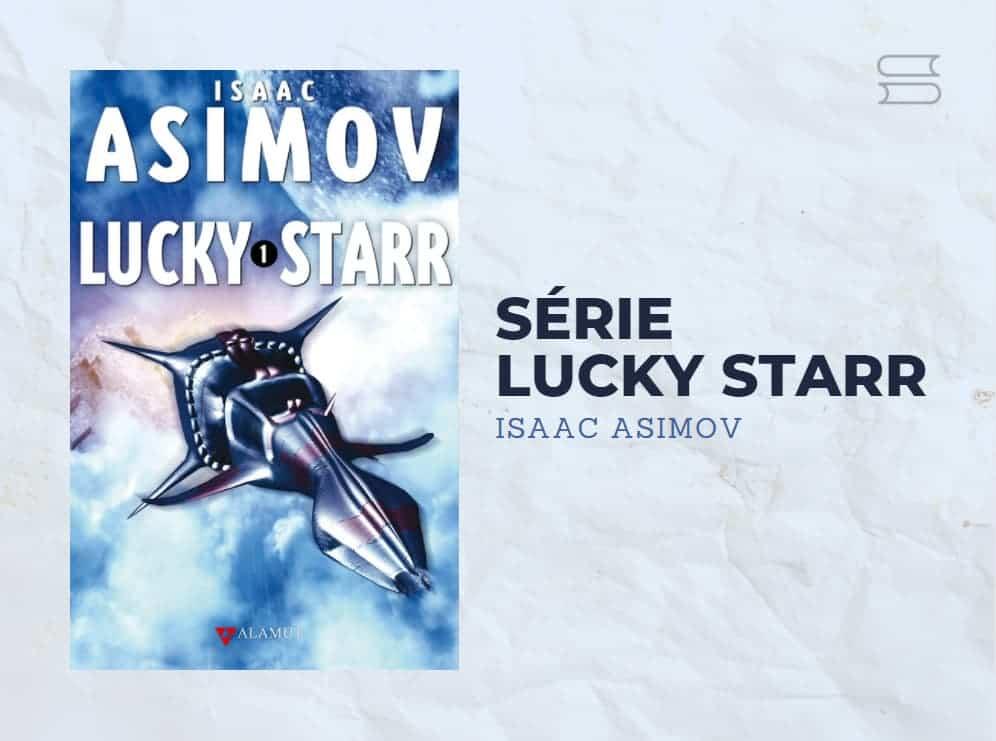livro serie lucky starr