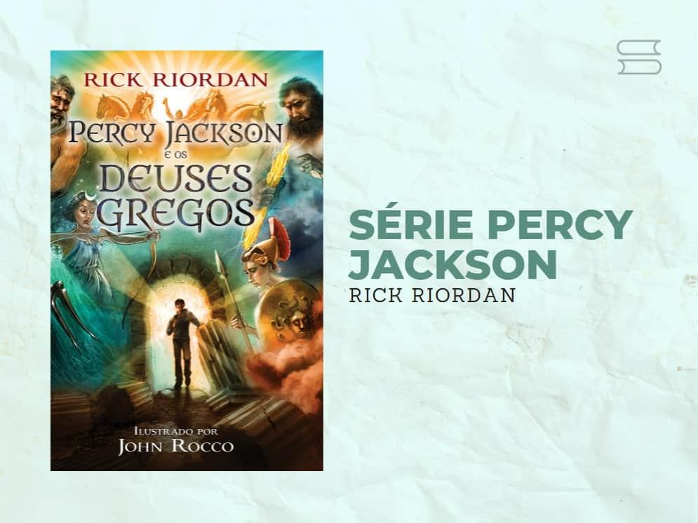 livro serie percy jackson