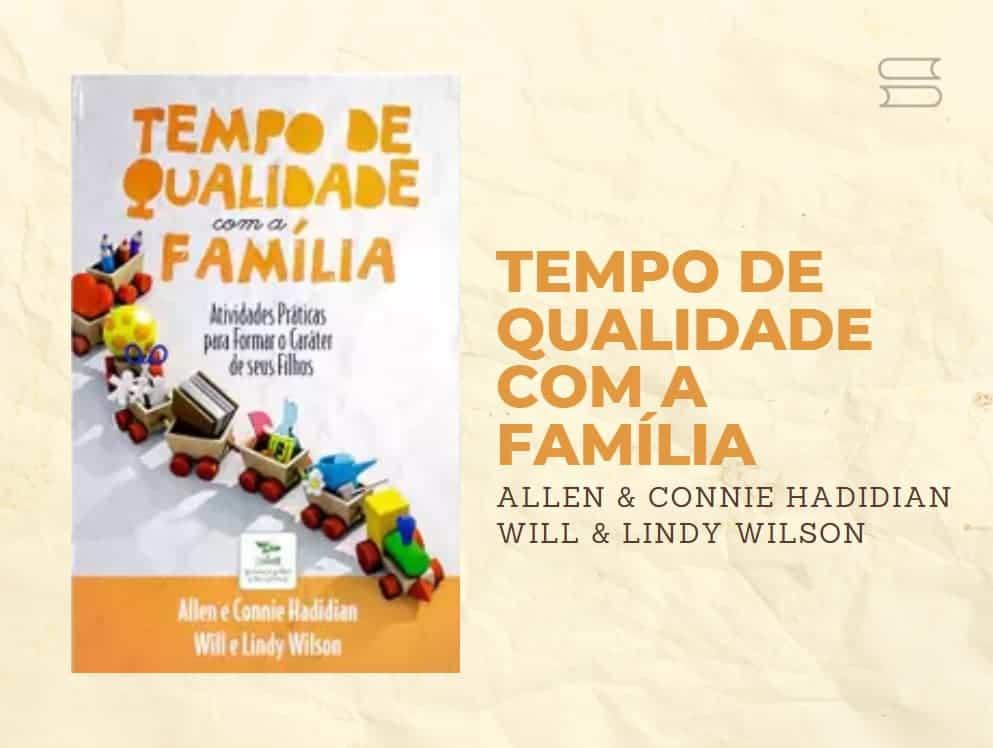 livro tempo de qualidade com a familia