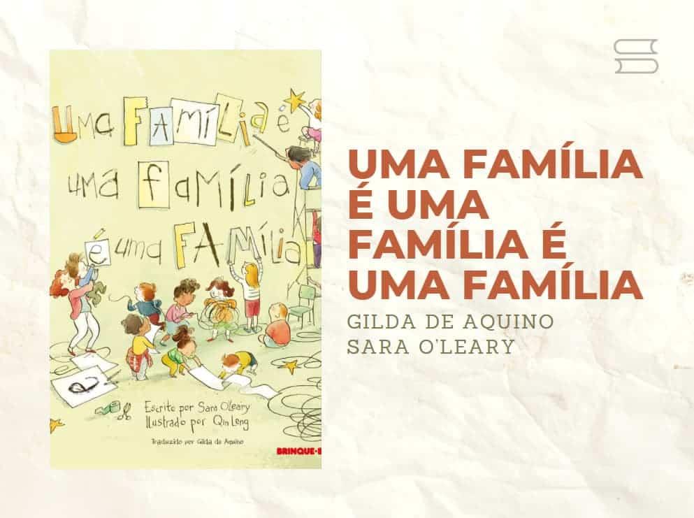 livro uma familia e uma familia