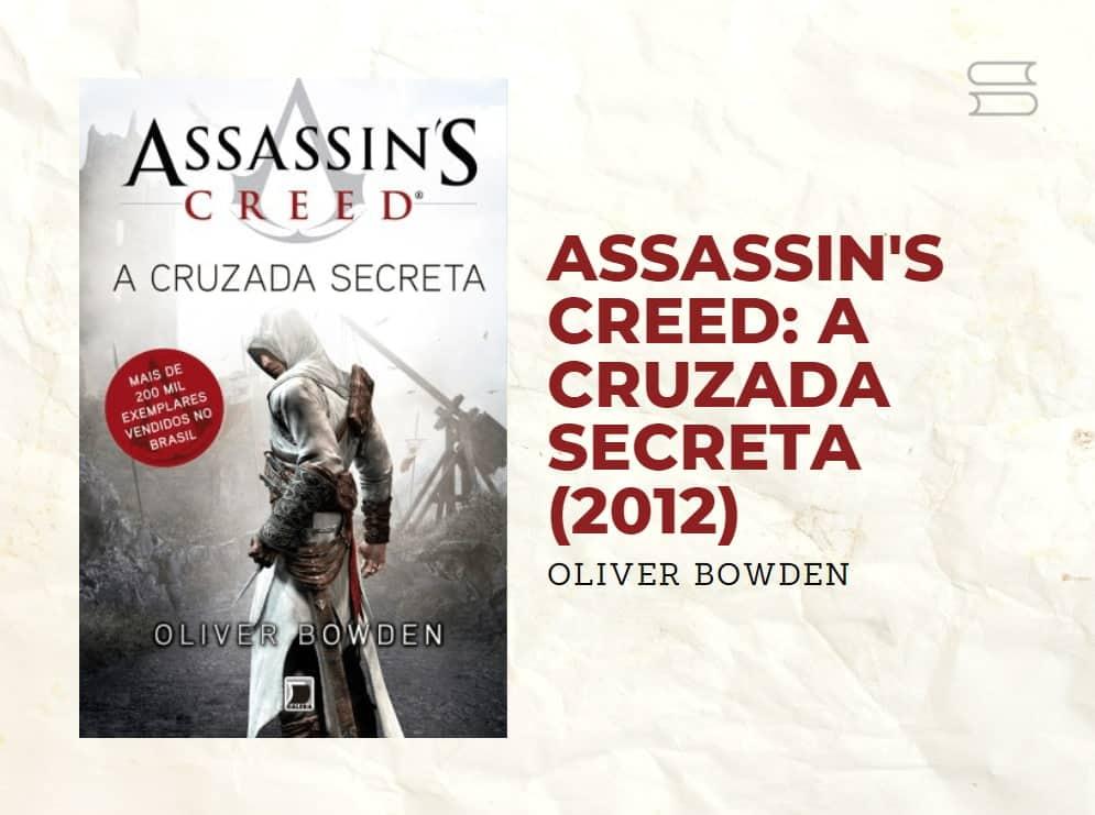 livro assassins creed a cruzada secreta