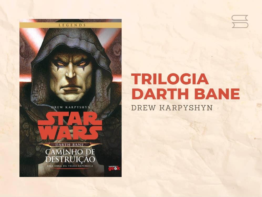 livro trilogia darth bane