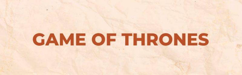 sequencia game of thrones